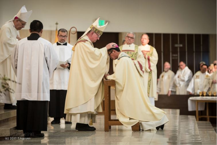 Thánh Lễ Tấn Phong Tân Giám Mục Thomas Nguyễn Thái Thành, Giám Mục Phụ Tá Giáo Phận Orange, California.