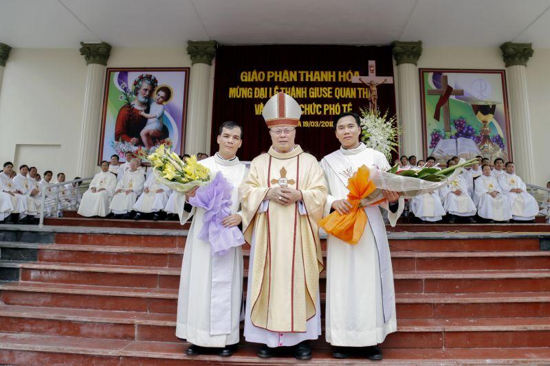 Thanh Hóa: Đại lễ kính Thánh Giuse - Quan thầy Giáo phận và truyền chức Phó Tế
