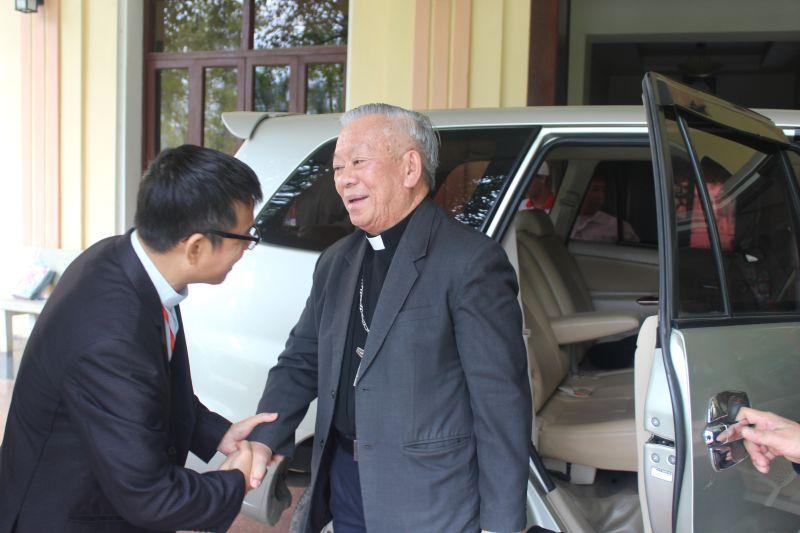 Giáo phận Thanh Hóa chào đón các bạn trẻ về tham dự Đại Hội giới trẻ giáo tỉnh Hà Nội Lần Thứ XV.